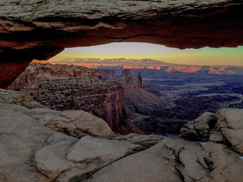 Snow Closes Arches Canyonlands Shutdown Leaves No Money To