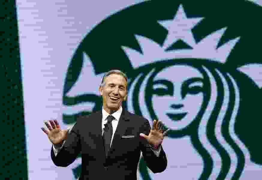 Dana Milbank: Howard Schultz brings a whole latte trouble