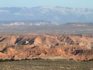 (Rick Egan  | Tribune file photo) This Aug. 6, 2017, file photo shows the Book Cliffs area south of Vernal. The area has been the battleground for environmentalists and pro-development advocates who want to develop tar sands mines in the area. Uintah County commissioners are battling with the elected clerk/auditor over who has control of accounting services in the county budget, largely fueled by oil and gas-related revenues.
