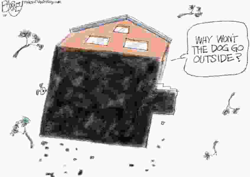 Bagley Cartoon: A Mighty Wind