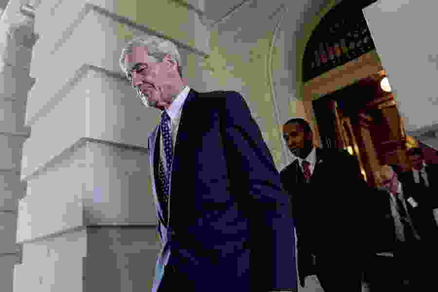 Americans view Mueller as more credible than Trump, but views of his probe are scattered