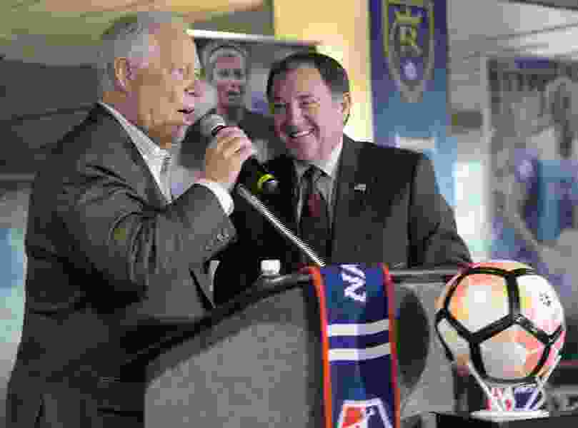 Monson: Will Dell Loy Hansen stir you to buy tickets for Utah's newest professional sports team?