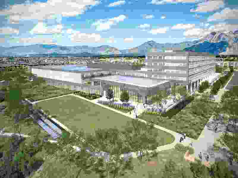 Zions Bank to build new tech campus on former Sharon Steel mill site in Midvale