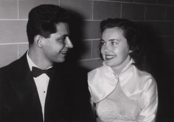 (Photo courtesy of Intellectual Reserve) Elder Robert D. Hales and his wife, Mary, at the Brigham Young University Junior Prom in 1953.