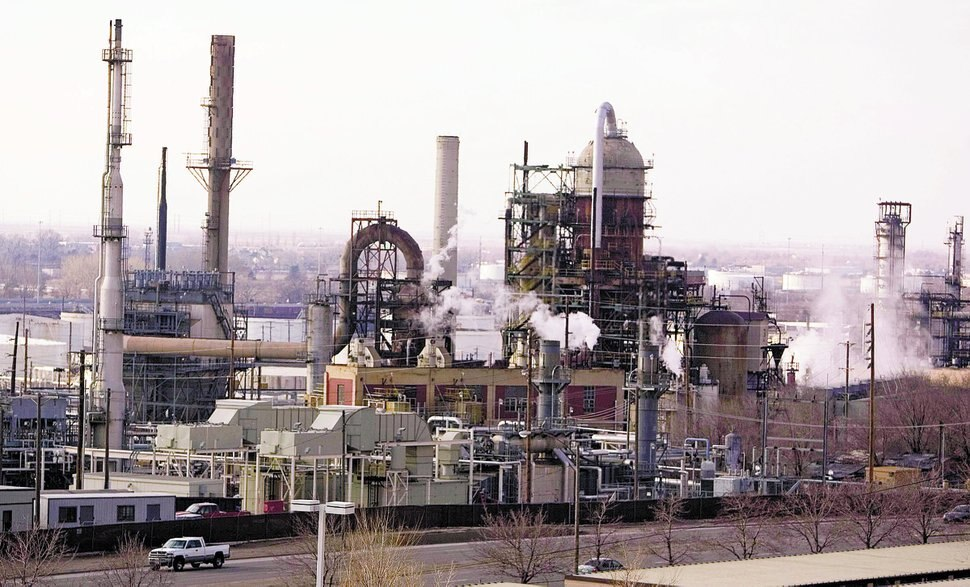 Tribune file photo Tesoro is Utah's largest refinery and, like Holly's oil-processing plant in in Woods Cross.