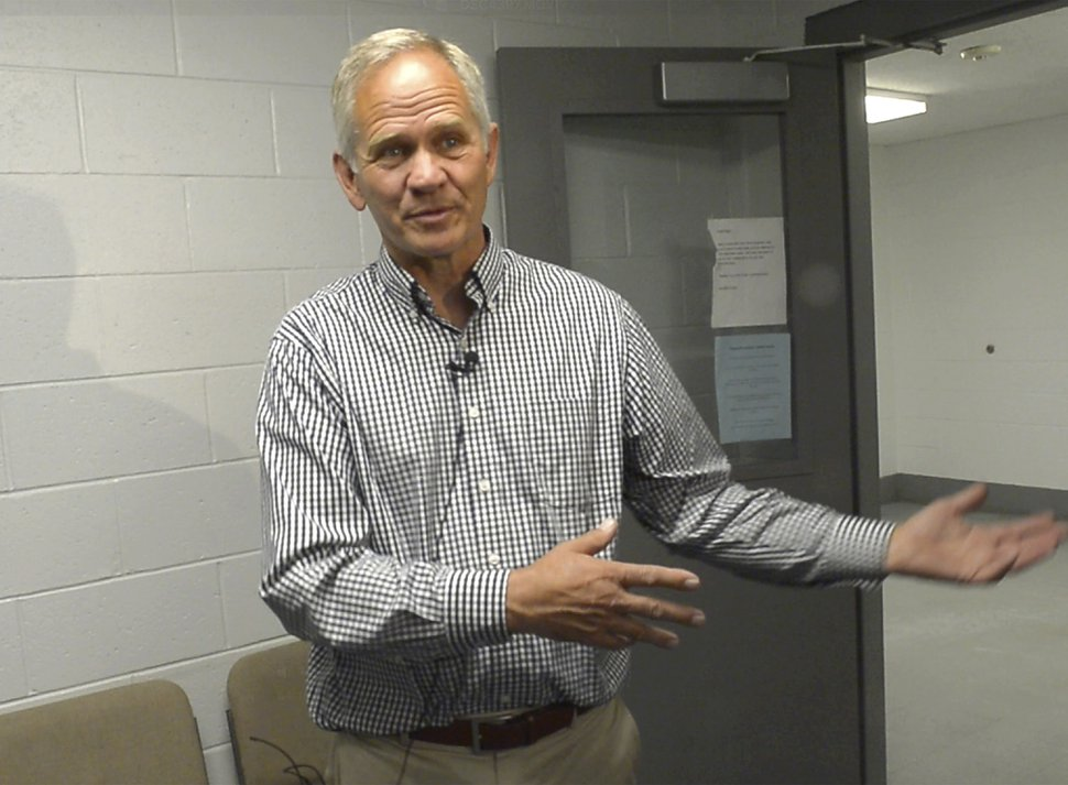 (Rick Egan | Tribune file photo) In this June 12, 2018, file photo, Ed Smart talks to the media at the Utah State Prison in Draper, Utah, after a parole hearing for Wanda Barzee. The father of Utah kidnapping survivor Elizabeth Smart has come out as gay, saying his decision brings challenges but also