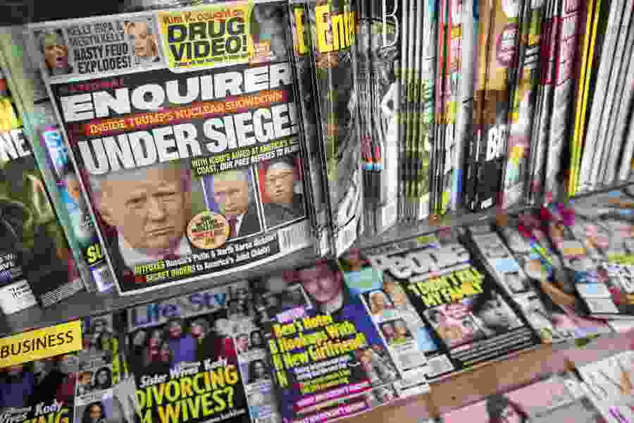 National Enquirer being sold to former newsstand mogul