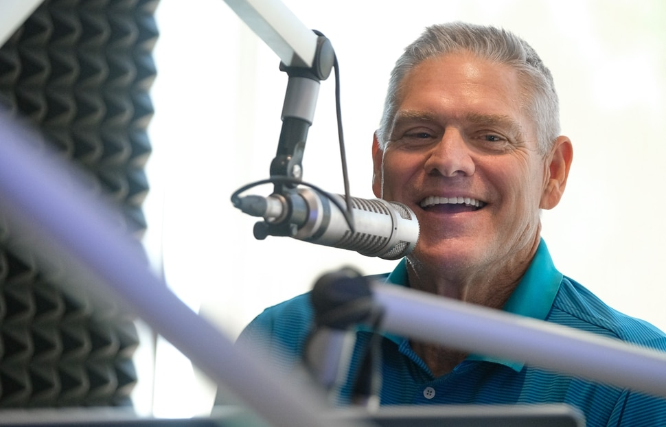 (Francisco Kjolseth | The Salt Lake Tribune) Dale Murphy, media man: Former Atlanta Brave great and Alpine resident, is writing columns for The Athletic and is co-hosting a sports podcast with ESPN 700's Bill Riley.