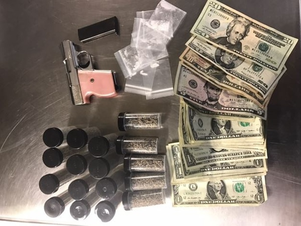 photo courtesy Salt Lake City Police Department) Spice and other items that were confiscated in Salt Lake City.