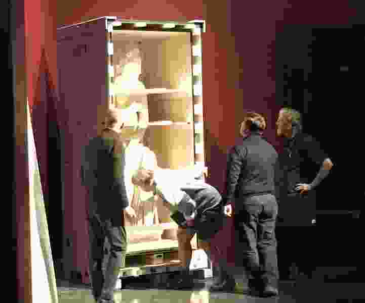 The Leonardo starts unpacking artifacts from Pompeii, for exhibition opening Saturday