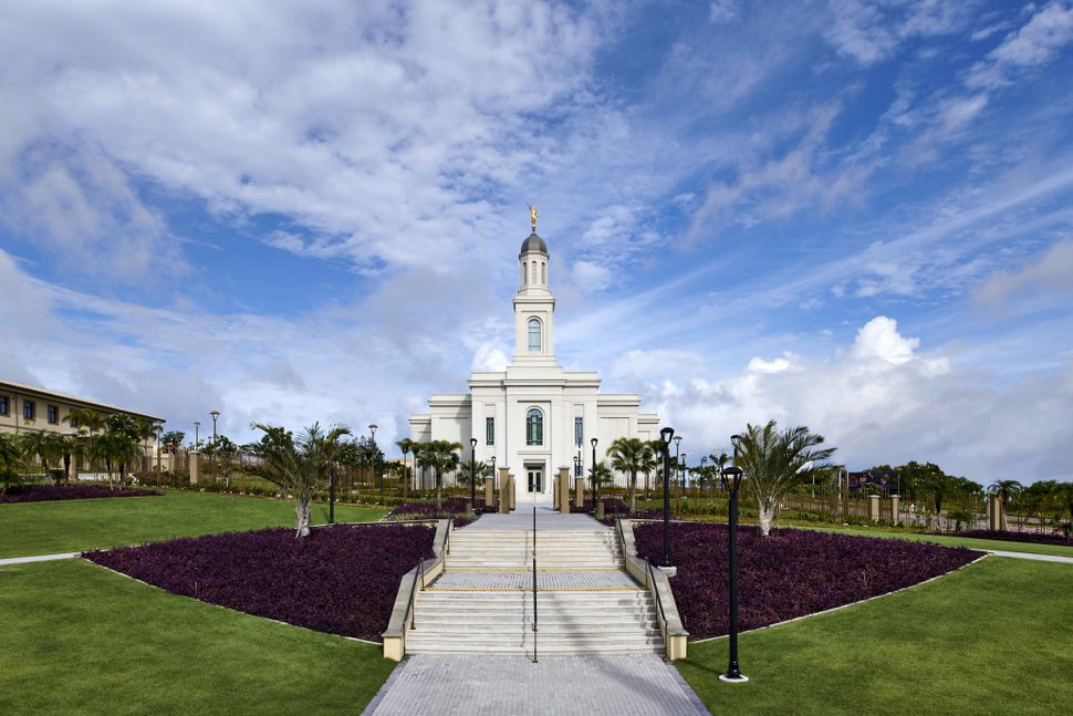 (Photo courtesy of The Church of Jesus Christ of Latter-day Saints) The Fortaleza Brazil Temple.