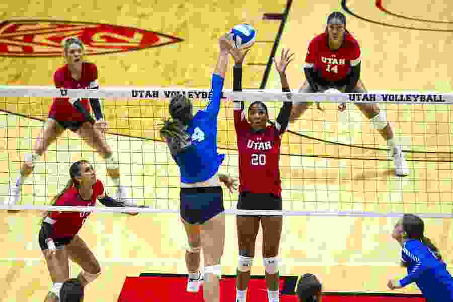 Utah, BYU to host NCAA volleyball games