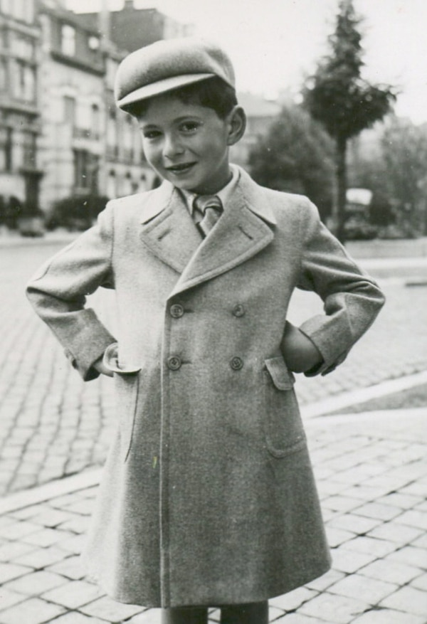 (Courtesy of the Sousa Mendes Foundation) Daniel Matuzewitz, now known as Daniel Mattis, is shown in Brussels, Belgium, at age 7 in 1940, shortly before becoming a refugee.
