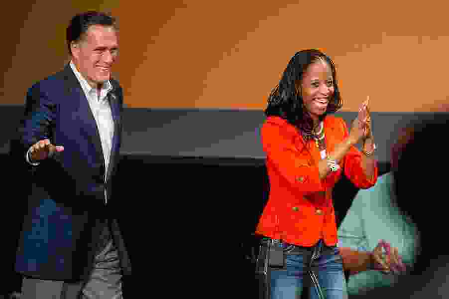 Mitt Romney's Senate bid will boost Mia Love to re-election, a top GOP congressman says