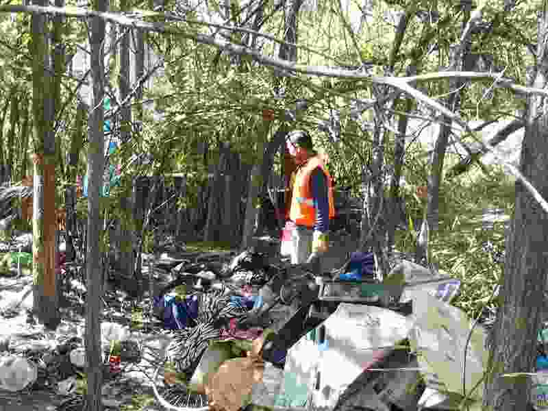 50 tons of trash removed from homeless camps along Jordan River