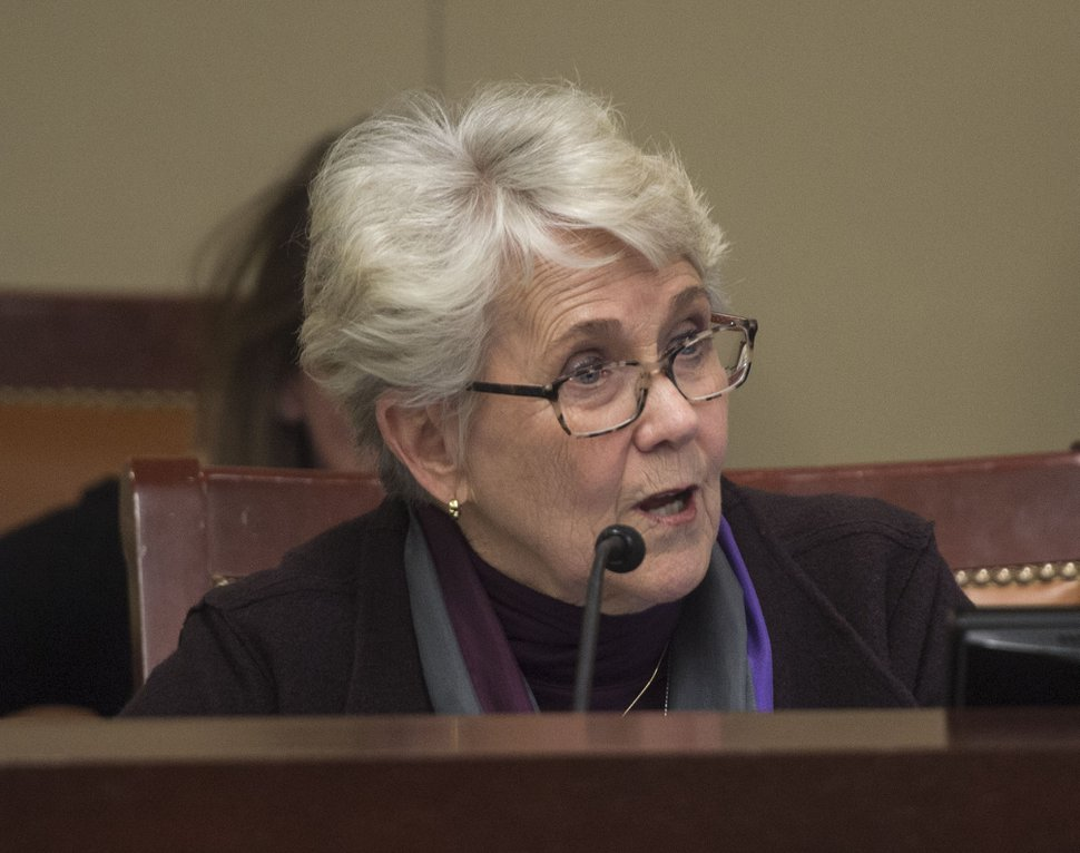 (Steve Griffin | Tribune file photo) Rep. Carol Spackman Moss, D-Holladay.
