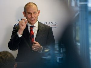 (Francisco Kjolseth  |  Tribune file photo)  Rep. John Curtis, R_Utah, at the Sutherland Institute in Salt Lake City on Friday, Aug. 23, 2019. Curtis is calling for the creation of a GOP caucus on climate change.
