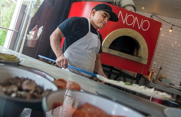 (Leah Hogsten   The Salt Lake Tribune) Pizza Nono serves pizzas, artisan salads and seasonal sides in Salt Lake City's 9th and 9th neighborhood.