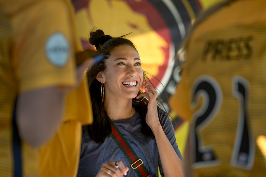 Utah Royals FC's Christen Press opts out of press conference