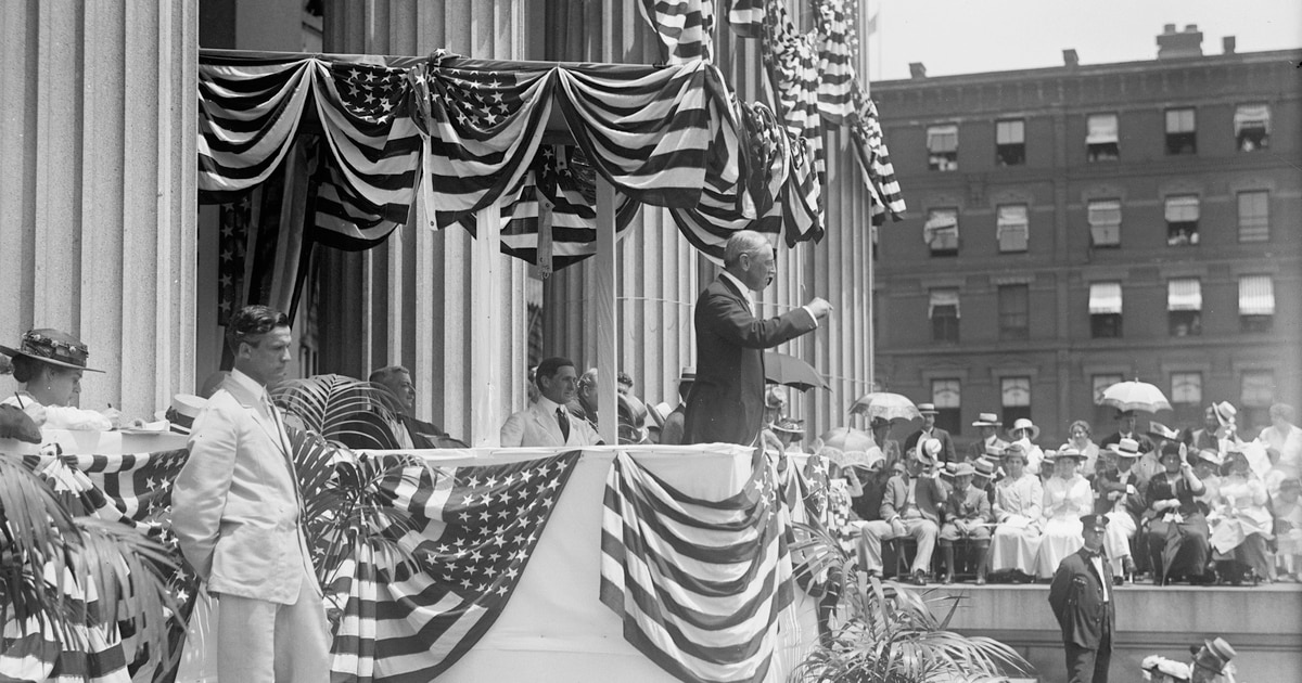 woodrow wilson s speech analyzed speech given april 2 1917 But on april 2, 1917 he asked congress for a declaration of war the impact on american foreign policy was profound 1917: woodrow wilson's call to war pulled america onto a global stage.