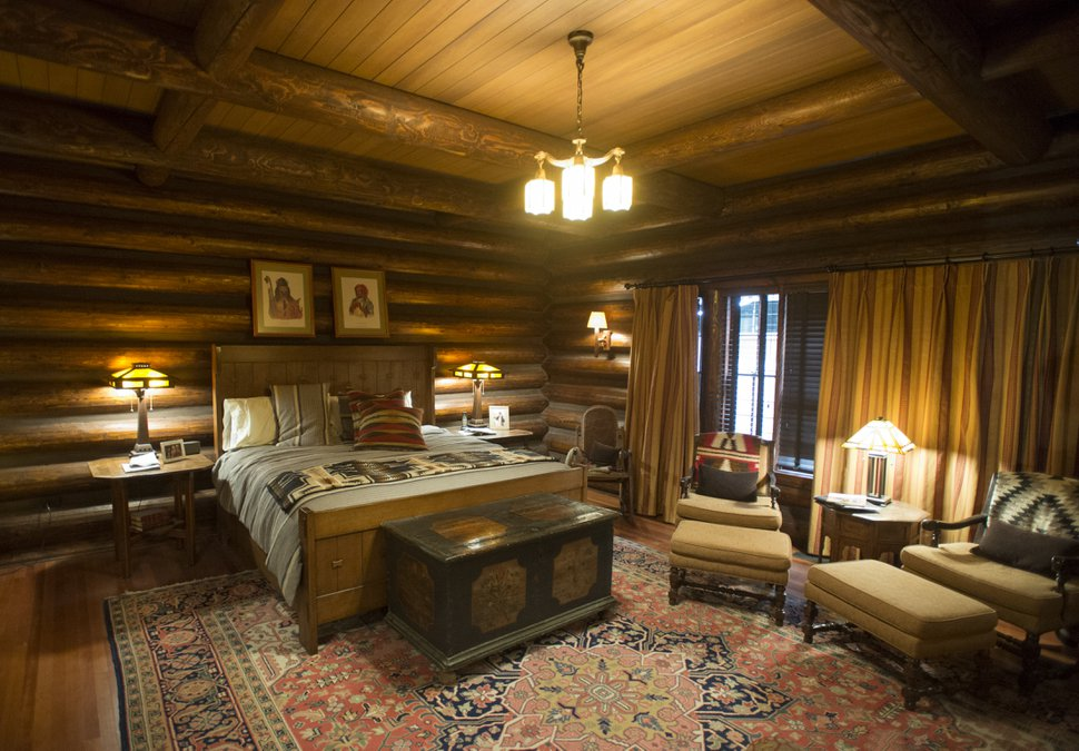 (Rick Egan | The Salt Lake Tribune) The set for the Dutton House for the new series titled