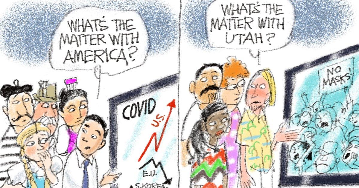 Tribune Editorial: Ignorance and apathy in Utah increase threat of  coronavirus - The Salt Lake Tribune