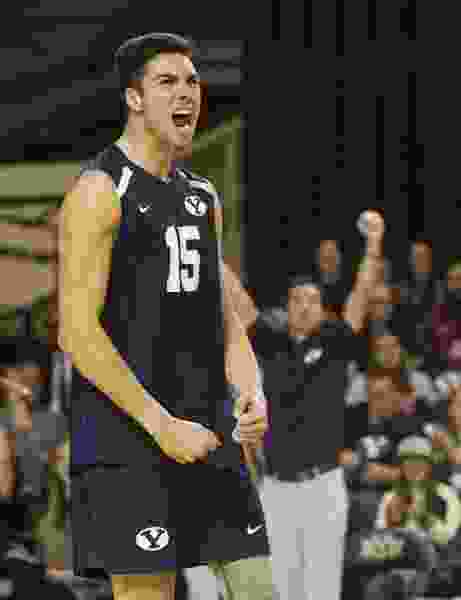 BYU 'comfortable' at men's volleyball Final Four but must beat UCLA on its home floor to advance to third straight championship match