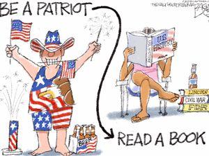 Patriot Act   Pat Bagley