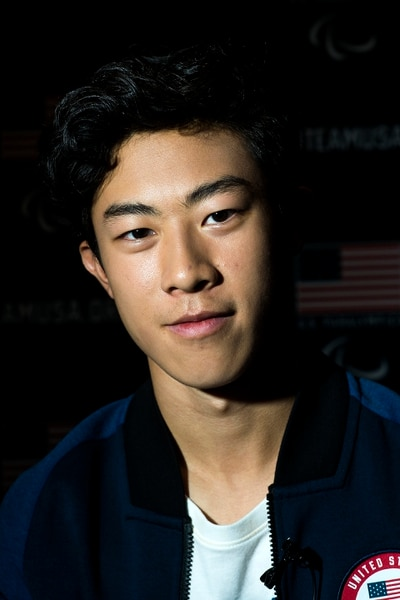 (Chris Detrick | The Salt Lake Tribune) Figure skating athlete Nathan Chen poses for a portrait during the Team USA Media Summit at the Grand Summit Hotel in Canyons Village Monday, September 25, 2017.