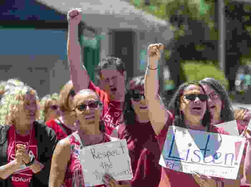 Utah's GOP House speaker disapproves of teacher walkout planned for Friday