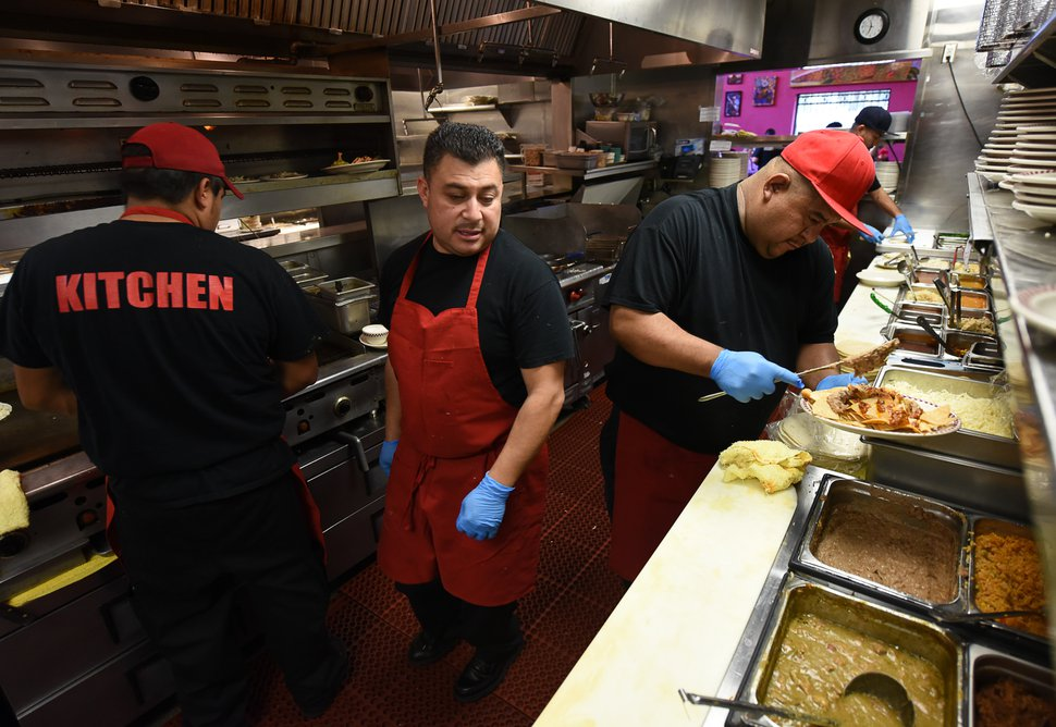 Red Iguana's secret to success? Can't ask the executive chef