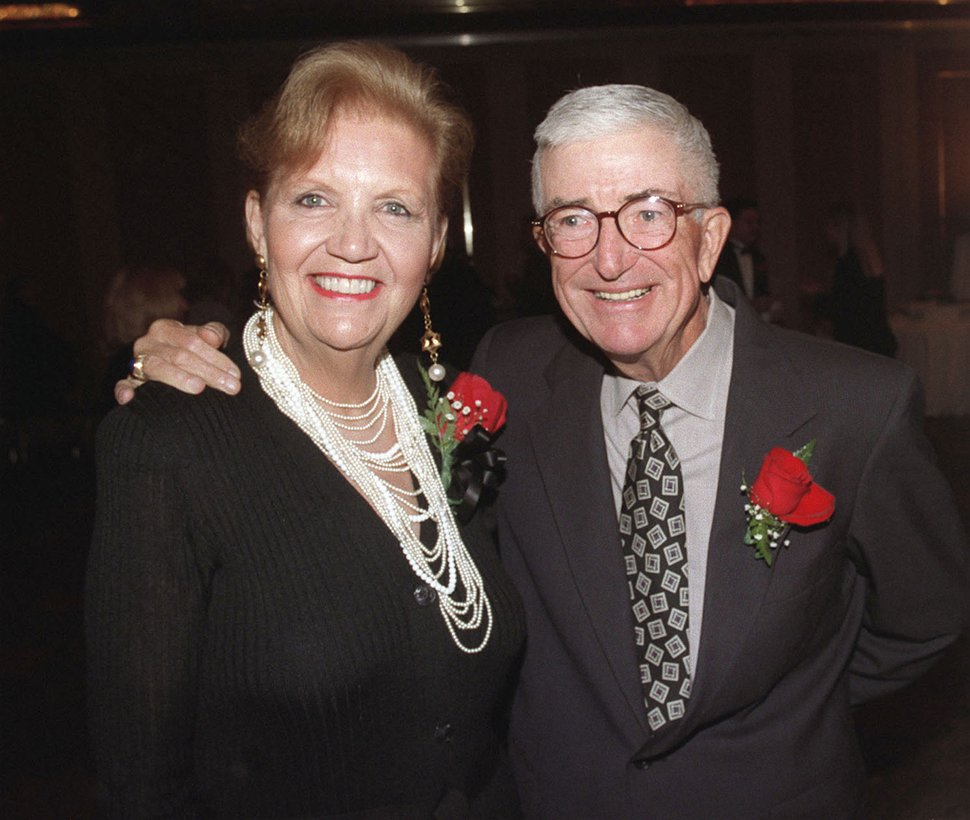 Barbara amnd Frank Layden. Hartmann/photo