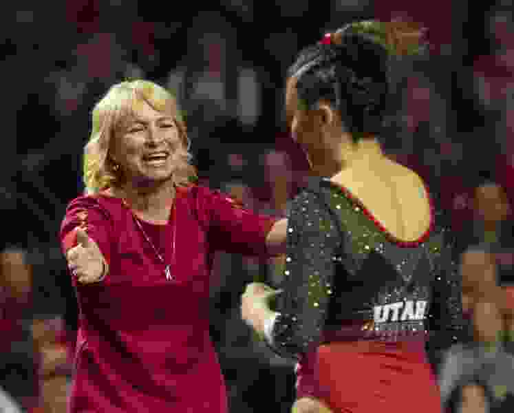 Megan Marsden is retiring as the Utah gymnastics co-coach, leaving Tom Farden in charge of the Red Rocks