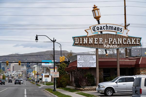 (Francisco Kjolseth  | The Salt Lake Tribune) Coachman's Dinner & Pancake House at 1301 S. State St. is closing after 60 years to make way for a new development.