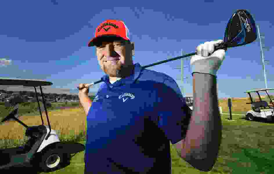 Former Ute pitcher Ryan Reisbeck never heard of Long Drive, before his tee shot bounced past the clubhouse