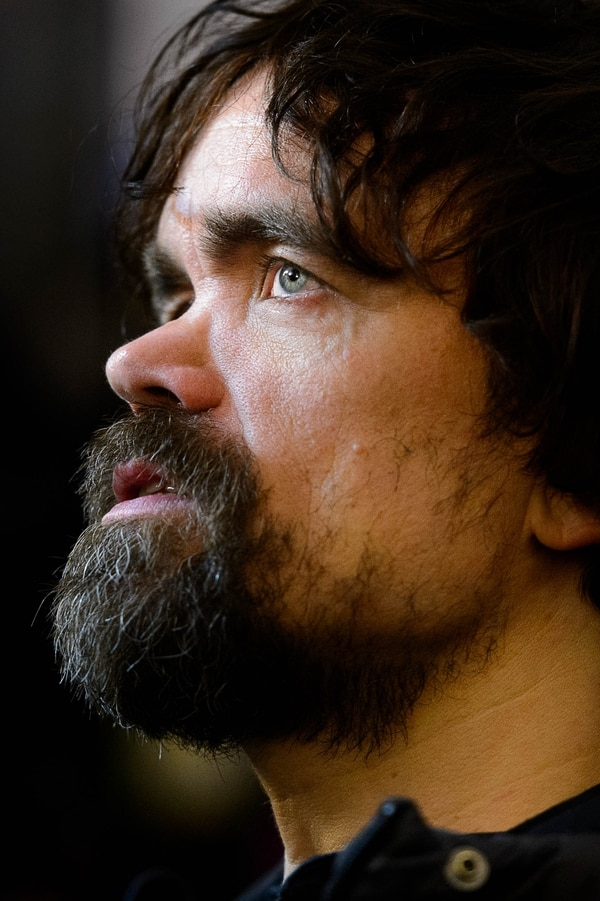 "Trent Nelson | The Salt Lake Tribune Peter Dinklage at the premiere of the film ""Rememory,"