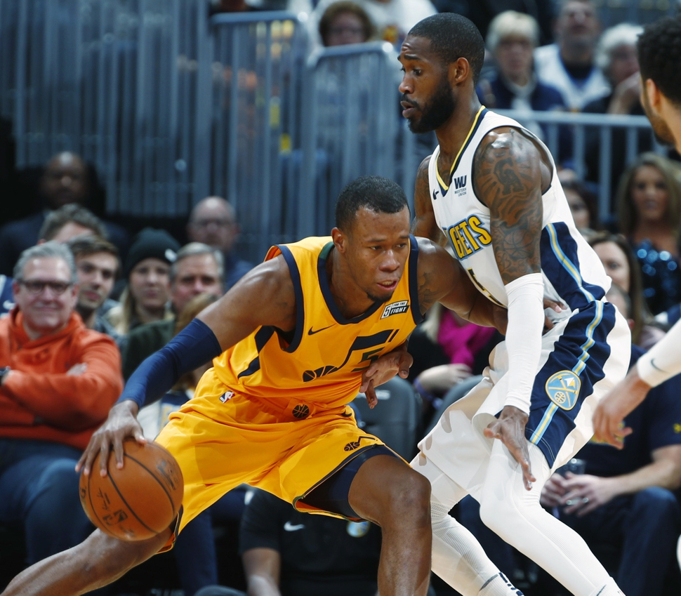 Denver Shooting Competition: Denver Nuggets Defeat Cold-shooting Utah Jazz, 107-83