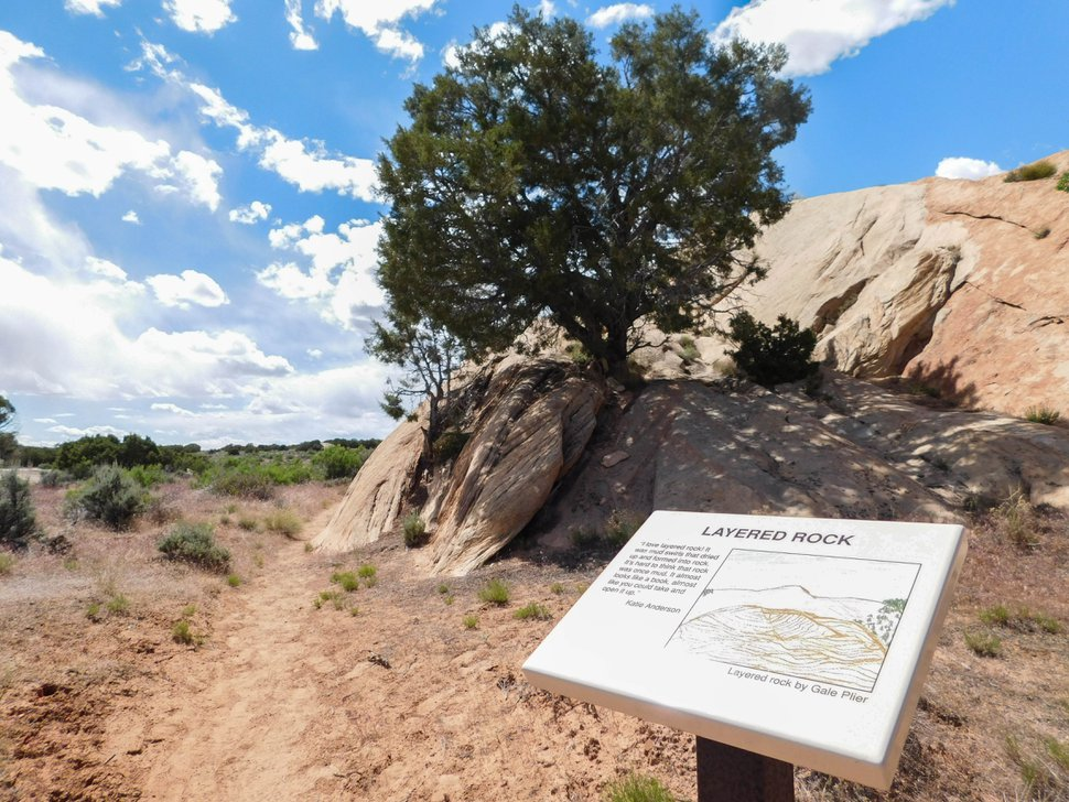 Erin Alberty | The Salt Lake Tribune Desert Voices is a family trail at Dinosaur National Monument. It is just over 2 miles long and shows off some of the monument's rocky scenery and desert plants and wildlife. May 27, 2017.