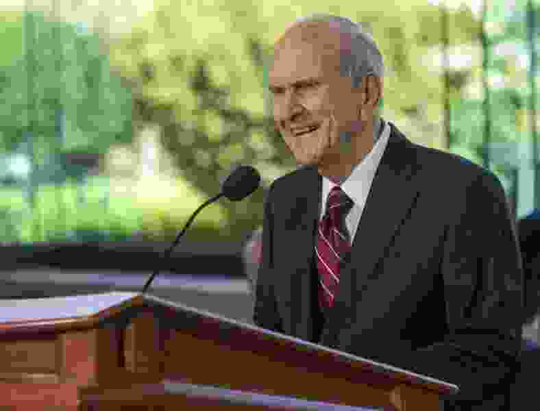 Care for yourselves and your loved ones, President Russell Nelson urges in global video message as Latter-day Saints brace for a Sunday without services