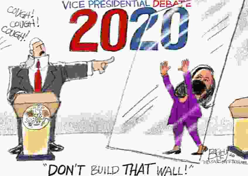 Bagley Cartoon: Build THIS Wall!