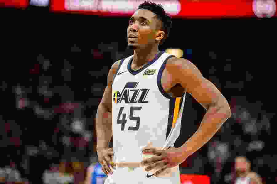 Jazz rookie Donovan Mitchell is free to make mistakes, as long as he learns from them — quickly