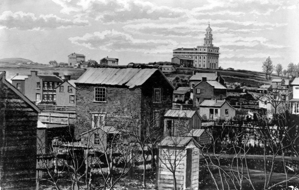 (Photo courtesy Utah State Historical Society) Nauvoo, Illinois.