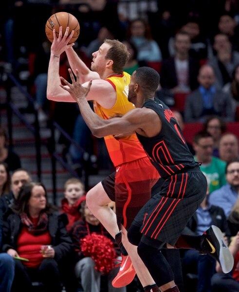 Portland Blazers Roster 2018: Utah Jazz Beat Portland Trail Blazers 115-96 For Ninth