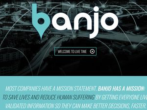 (screengrab from Banjo company website) Park City-based Banjo had a contract with the state of Utah last year to create a live-time surveillance system to help law enforcement and other entities respond to situations faster. Some experts worried about privacy implications.