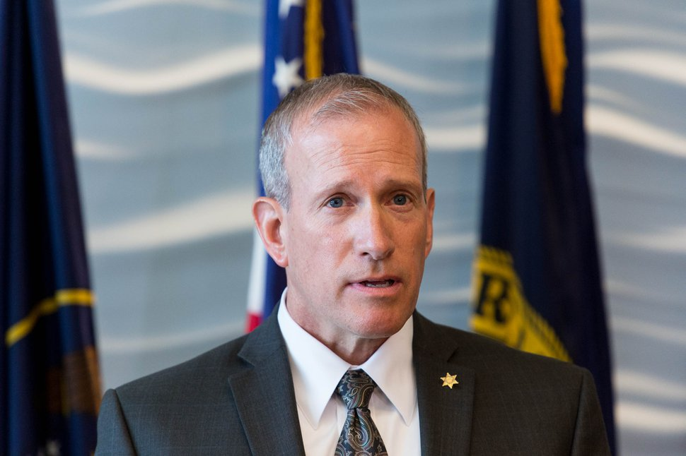 Trent Nelson | The Salt Lake Tribune Public Safety Commissioner Keith Squires