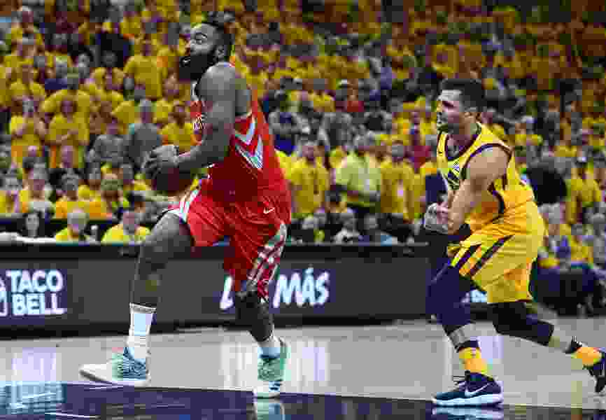 As Jazz face possible elimination in Game 5, stopping the Rockets looks as daunting as ever