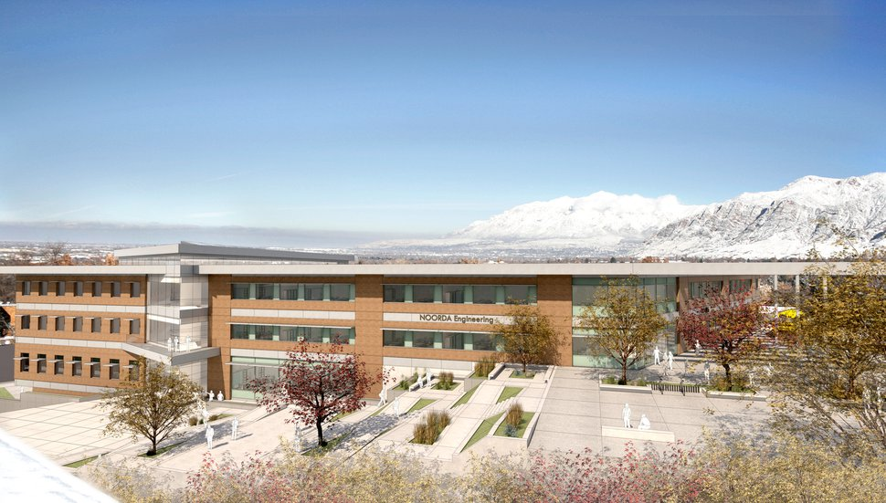 (Photo courtesy of Weber State University) This is a rendering of a new engineering and applied science building approved for construction at Weber State University.