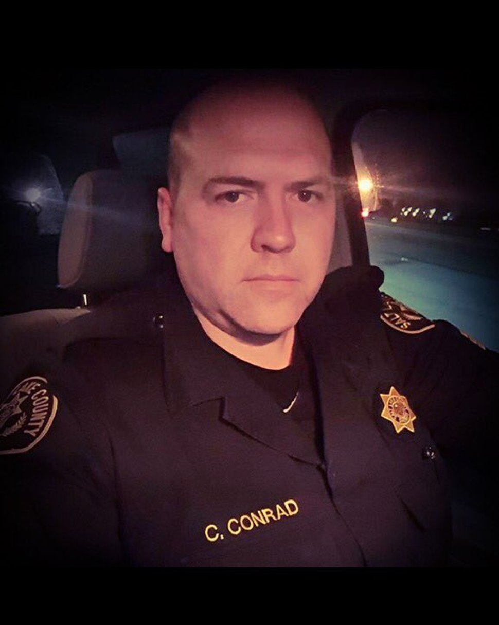 (Courtesy of Unified Police Department) Salt Lake County Sheriff's Sgt. Chad Elwood Conrad