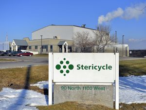 (Keith Johnson | Tribune file photo) This Jan. 21, 2014, file photo shows the Stericycle plant in North Salt Lake that incinerated hazardous medical waste and racked up multiple violations of clean air laws and regulations. It has now agreed to pay $2.6 million to resolve a case brought by the Environmental Protection Agency.