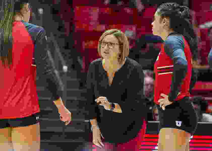 Utah will honor volleyball coach Beth Launiere, who makes sure a player will share the spotlight